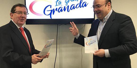 1. Sebastián Pérez (PP) desgranará en 100 días su proyecto de ciudad bajo el lema 'La Gran Granada'