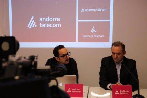 Andorra Telecom presenta la seva nova imatge