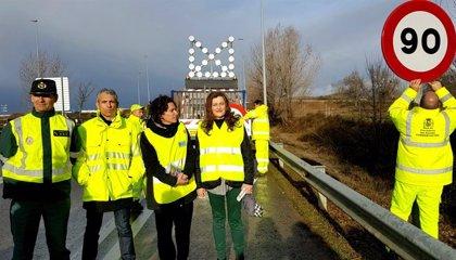 La reducció de velocitat a 90 km/h a les carreteres convencionals entra en vigor aquest dimarts