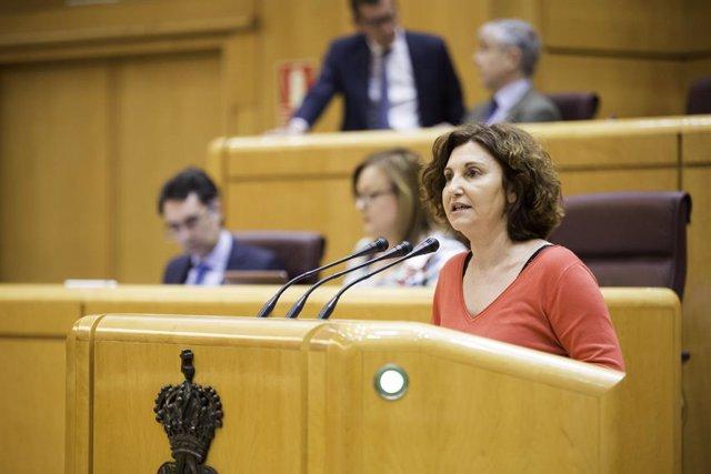 Pilar Garrido, senadora d'Units Podem