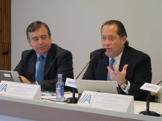 Francisco Botas y Juan Carlos Escotet (Abanca)