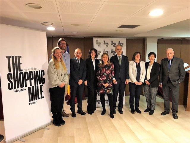 Presentació de l'eix comercial d'Andorra The Shopping Mile