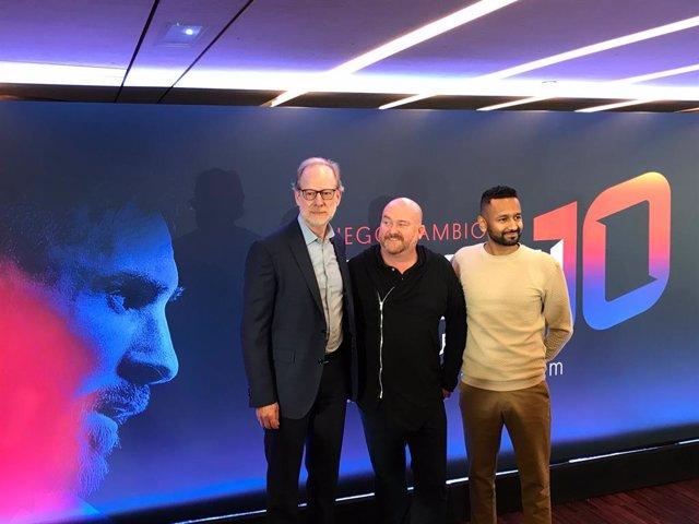 Presentación de 'Messi10 by Cirque du Soleil'