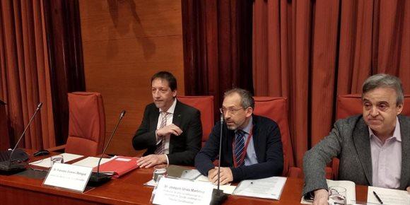 7. El Gabinete Jurídico de la Generalitat asegura que el TC les negó su defensa durante el 155