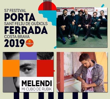 El Festival de la Porta Ferrada incorpora Els Pets, Melendi i Beret en el seu cartell
