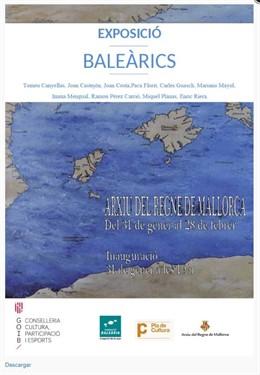Cartel de la exposición 'Balerics'