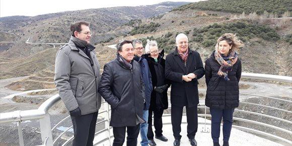 9. Finalizada la obra de la presa de Enciso que beneficiará a 70.000 personas