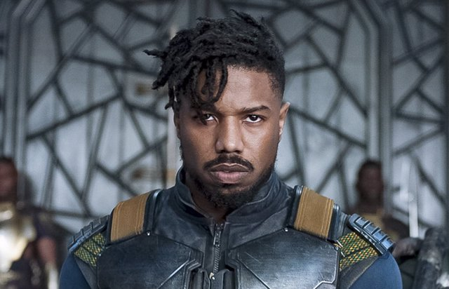 Michel B. Jordan es Killmonger en Black Panther