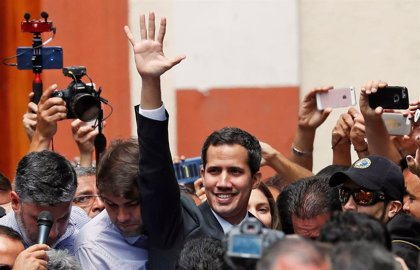 Así sigue la prensa iberoamericana la actualidad en Venezuela una semana después de la autoproclamación de Guaidó
