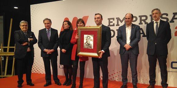 8. Santiago Sala, director general del Grupo Apex, Premio Empresario del Año 2018