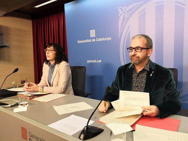 El secretari de Treball, Assumptes Socials i Famílies de la Generalitat, Josep G