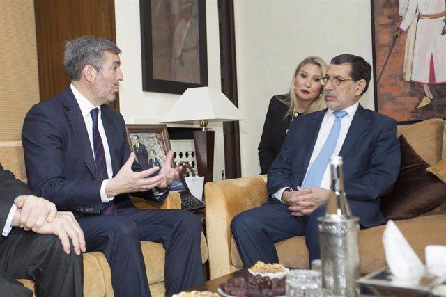Visita oficial del presidente de Canarias, Fernando Clavijo, a Marruecos