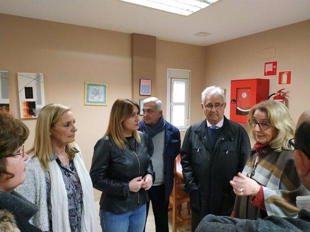 Isabel Armario visita Afanas Jerez