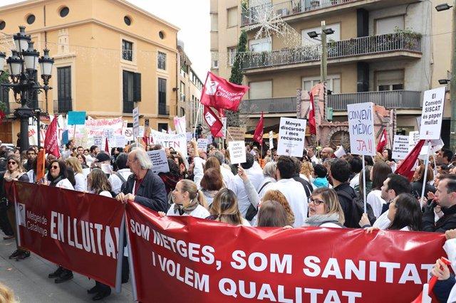 Vaga de metges de la concertada de Catalunya