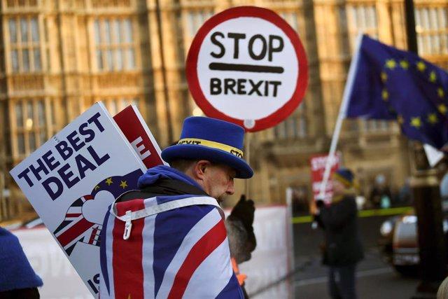 Protestas contra el Brexit en Londres