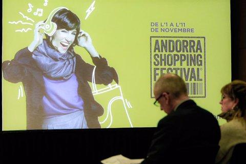El ministre Francesc Camp en el balanç de l'Andorra Shopping Festival