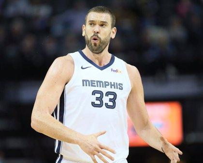 Un gran Marc Gasol no impedeix l'ensorrament dels Memphis davant dels Nuggets
