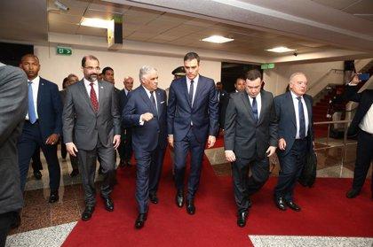 Diputado opositor de Venezuela asegura, tras reunirse con Pedro Sánchez, que éste respalda el liderazgo de Guaidó