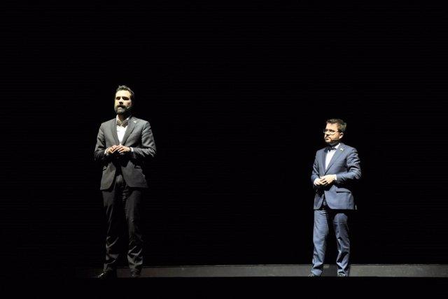 Roger Torrent i Pere Aragons