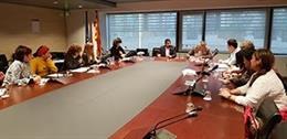Reunió del conseller de Treball, Assumptes Socials i Famílies de la Generalitat,