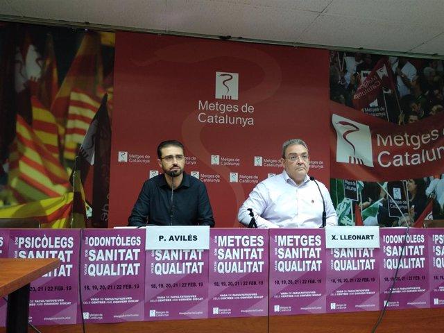 ARXIVO / P.Avilés i X.Lleonart de Metges de Catalunya