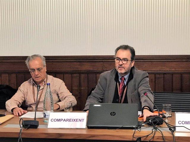 Miquel Porta (UAB) i Antoni Plasncia (ISGlobal)