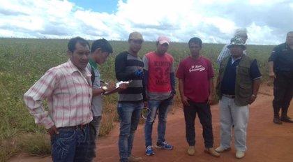 La comunidad indígena paraguaya Takua'i denuncia la expulsión de sus tierras por pistoleros brasileños