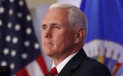 Pence reitera el apoyo de EEUU a Guaidó tras reunirse con políticos opositores de Venezuela