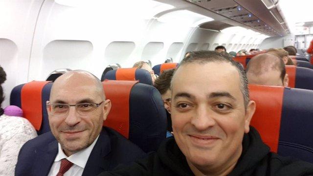 Tito Álvarez i Elpidio Silva viatgen a Brusselles per traslladar les protestes