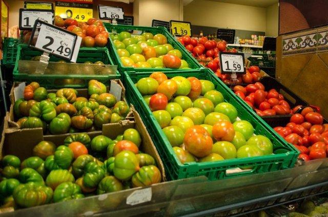 Consumo, prezo, prezos, IPC, supermercado, alimentos, compras, comprar, froitas