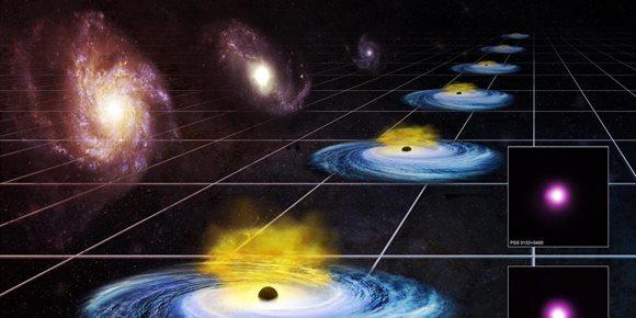 10. La energía oscura puede haber variado con el tiempo cósmico