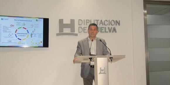 2. El Área de Concertación de la Diputación de Huelva destina 6,5 millones a municipios, planes de empleo y formación