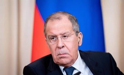 """Lavrov lamenta las """"actitudes destructivas"""" de la oposición venezolana al rechazar el diálogo"""