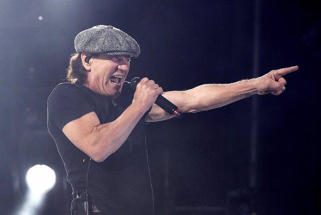 Brian Johnson de AC/DC