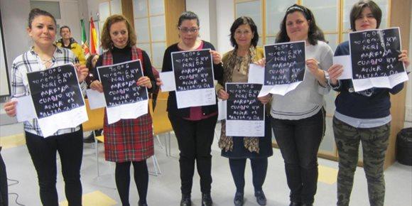 9. Nace en Aexpainba un grupo para defender los derechos de las mujeres con inteligencia límite y discapacidad intelectual