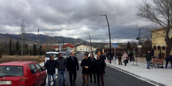 6. La Diputación de Jaén destina más de 300.000 euros al arreglo integral del principal tramo urbano de acceso a Pozo Alcón