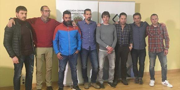 9. Jonás Fernández apuesta por la inclusión de la Brigada Minera en el mecanismo Europeo de respuesta ante emergencias
