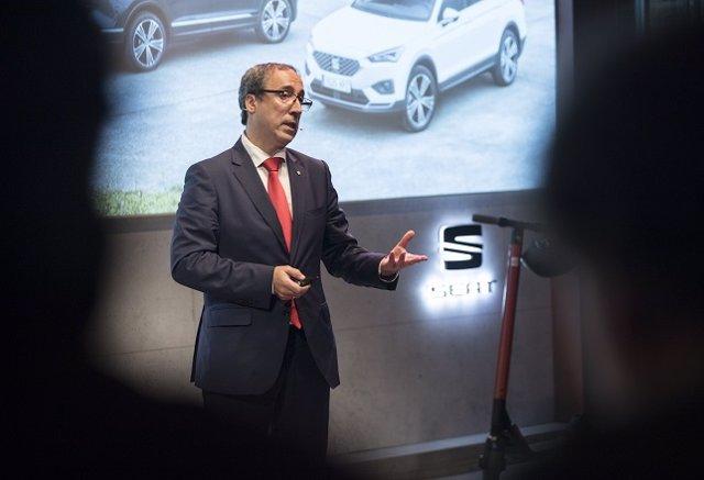 Mikel Palomera, director general de Seat Espanya/ARXIU