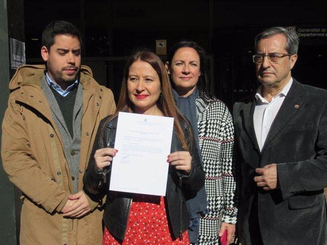 Sonia Sierra, Susana Beltrán, Martín Barra i David Mejía (Cs)