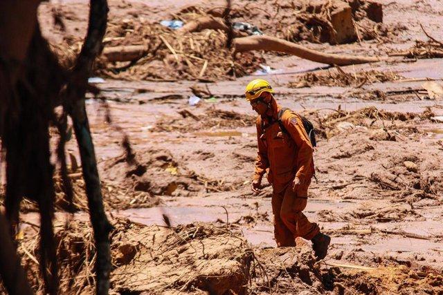 Rotura de una presa en Minas Gerais (Brasil)