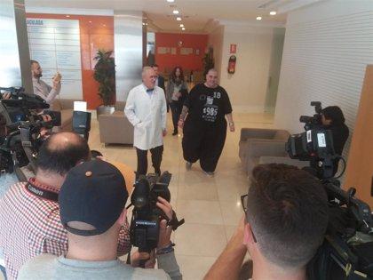 Comienzan en Granada pruebas para la operación del joven valenciano con obesidad mórbida que llegó a pesar 400 kilos