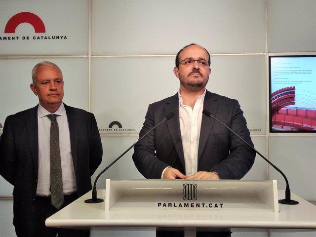 Santi Rodríguez, Alejandro Fernández (PP)