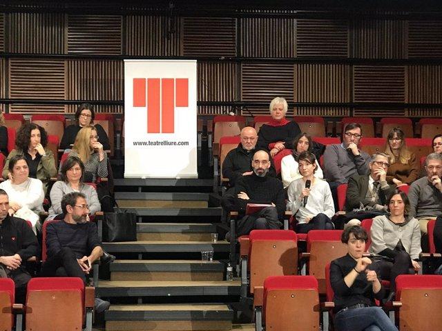 Presentació del nou programa artístic de J.C.Martel al capdavant del Teatre Lliu