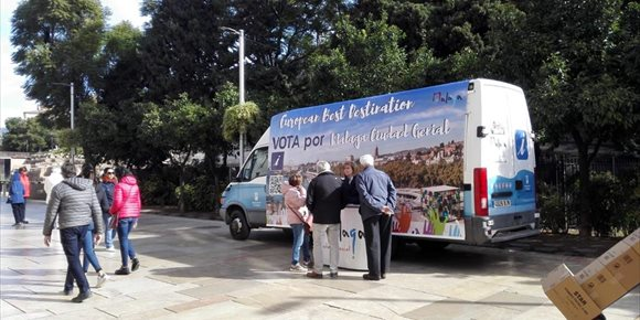 8. Málaga afronta la recta final de la votación para poder convertirse en Mejor Destino Europeo 2019
