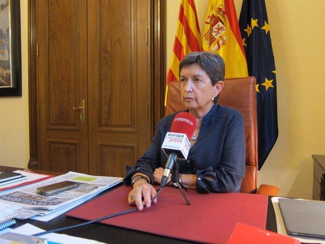 La delegada del Govern espanyol a Catalunya, Teresa Cunillera (Europa Press)