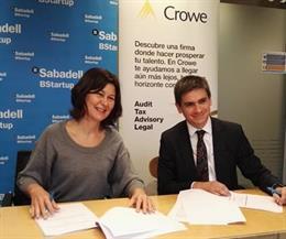 Acord de collaboració entre Crowe i Banc Sabadell