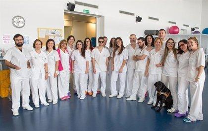 CMancha.- Ocho alumnos de Fisioterapia de la ONCE inician sus prácticas en el Hospital de Parapléjicos de Toledo