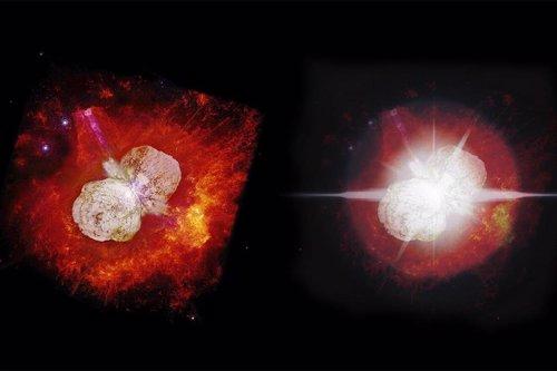 Resultado de imagen de Diferentes imágenes de Eta Carinae