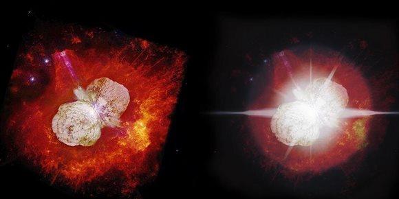 8. Se acerca el fin para 170 años de espectáculo desde Eta Carinae