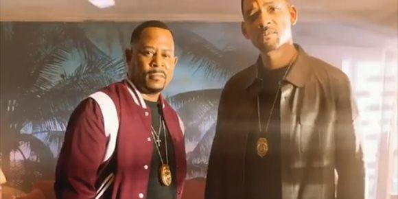 5. Will Smith lanza la primera imagen oficial de Dos policías rebeldes 3